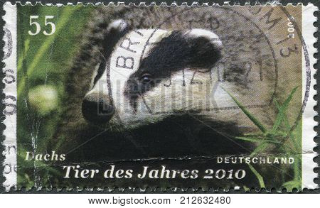 GERMANY - CIRCA 2009: A stamp printed in Germany dedicated to the