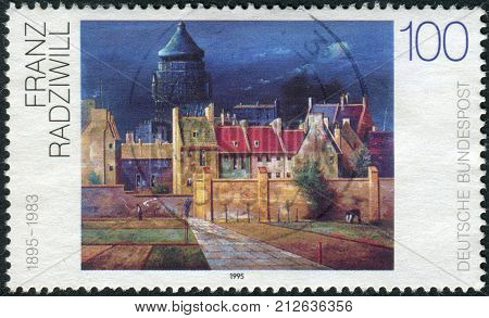 GERMANY - CIRCA 1995: Postage stamp printed in Germany shows a picture of