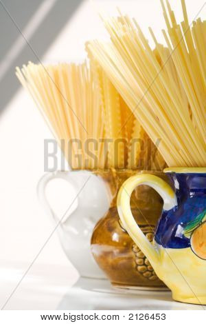 Spaghetti Still Life