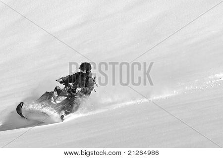 sled turn