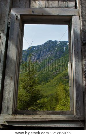 mountain window