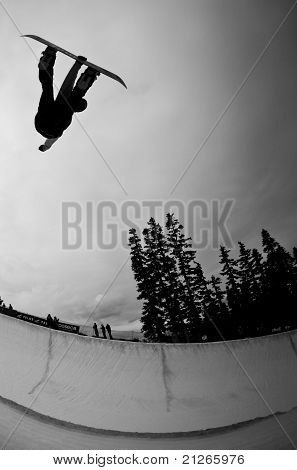 halfpipe air