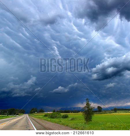 Severe thunderstorms are a yearly occurrence in the Midwestern United States