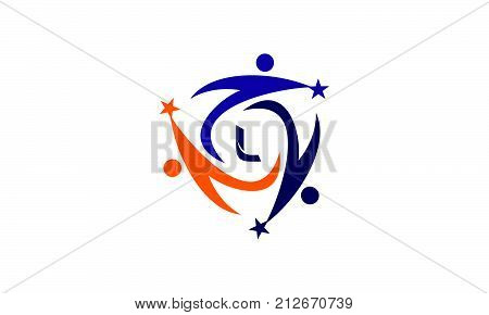 Success Life Coaching Letter L Logo Design Template Vector