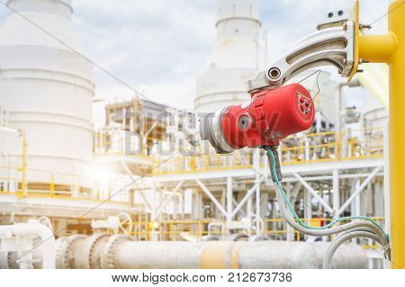 Fire and gas detection and monitoring system in hazardous area in oil and gas central processing platform to detect any of fire by detect infrared ray and sent alarm to control room.