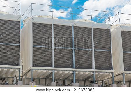 Larger Water Chillers Rooftop Units Of Air Conditioner For Large Industry Air Cooling System