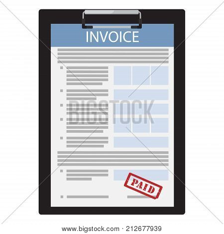 Invoice Paid Vector