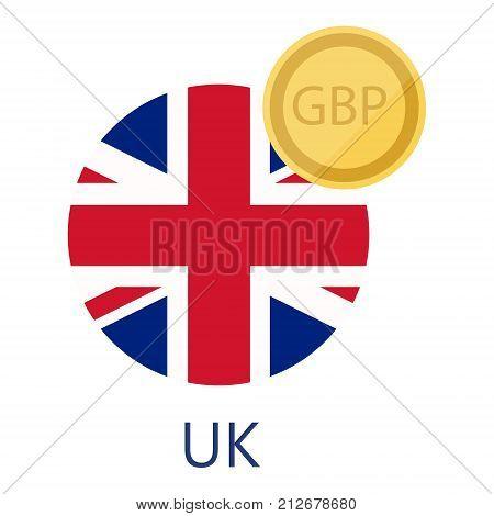 British Pound Flag Vector Photo Free Trial Bigstock