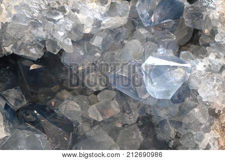 Celestine Mineral Texture