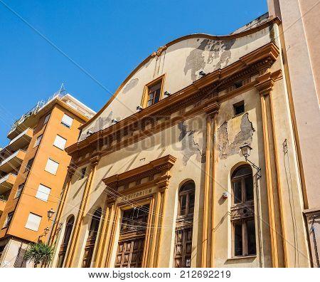 Auditorium In Cagliari (hdr)