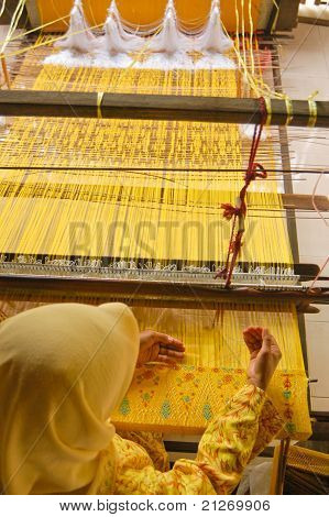 Songket Maker In Malaysia