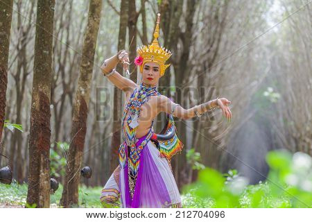 Nora Is A Classical Folk And Regional Dance Of Thailand