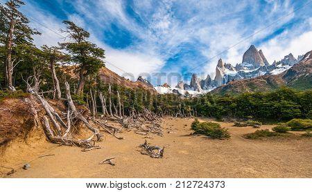 Fitz Roy Mountain, El Chalten, Patagonia, Argentina