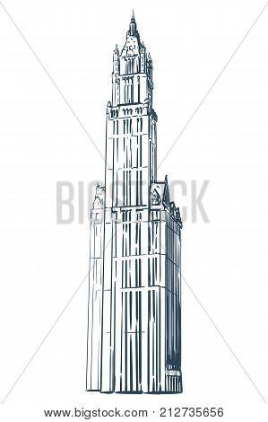 Famous Neo Gothic Wonder Of New York