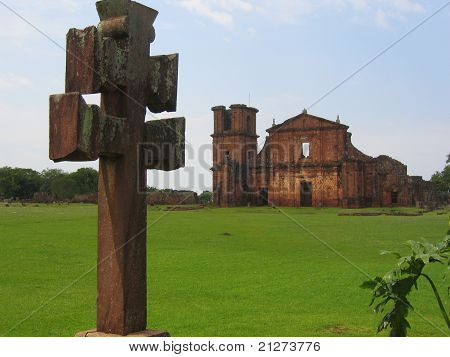 Sao Miguel das Missoes - Jesuits Missions UNESCO heritage