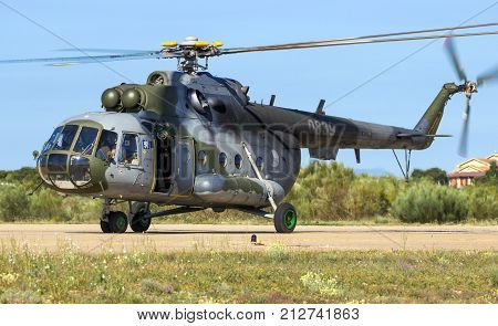Military Mil Mi-171 Helicopter