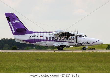 Let L-410 Ng Turbolet Airplane