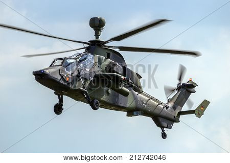 German Army Tiger Attack Helicopter