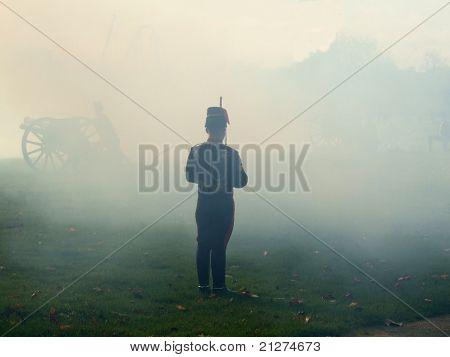 Smoke of war