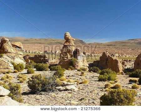 Valle de Rocas, Altiplano, Bolivia