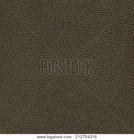 Olive Green Leatherette Texture Background