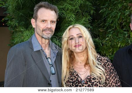 LOS ANGELES - JUN 23:  Michael Biehn, Jennifer Blanc-Biehn arriving at the 2011 Saturn Awards  at Castaways on June 23, 2011 in Burbank, CA