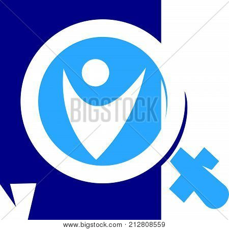 Document Health Verified Logo Design Template Vector