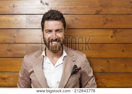 Nice man and active lifestyle