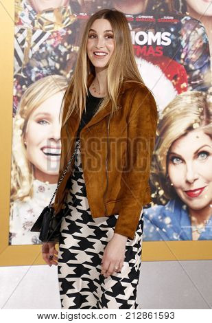 Whitney Port at the Los Angeles premiere of 'A Bad Moms Christmas' held at the Regency Village Theatre in Westwood, USA on October 30, 2017.