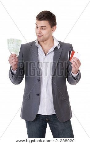 Cash or card