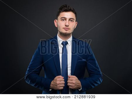 Attractive Young Business Man In Formalwear