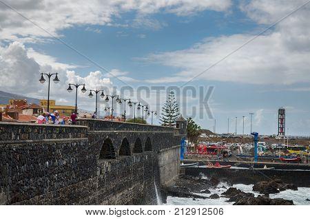 Puerto De La Cruz, Canary Islands Editorial Image