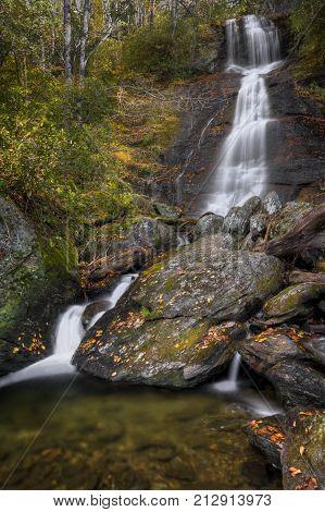 Dill Falls Waterfall