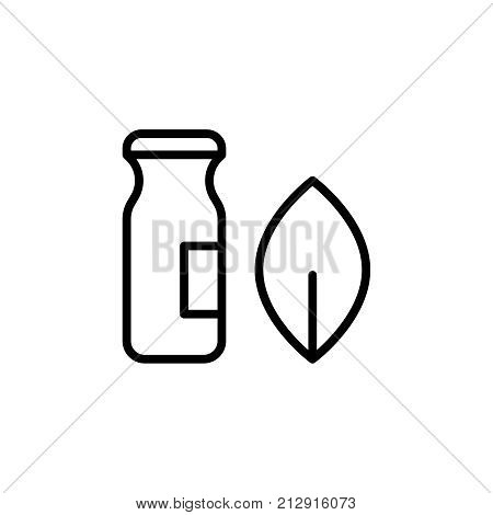 Modern alternative medicine line icon. Premium pictogram isolated on a white background. Vector illustration. Stroke high quality symbol. Alternative medicine icon in modern line style.