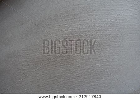 Simple Unprinted Grey Viscose Fabric From Above