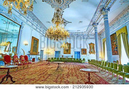 The Ivory Hall Of Golestan, Tehran