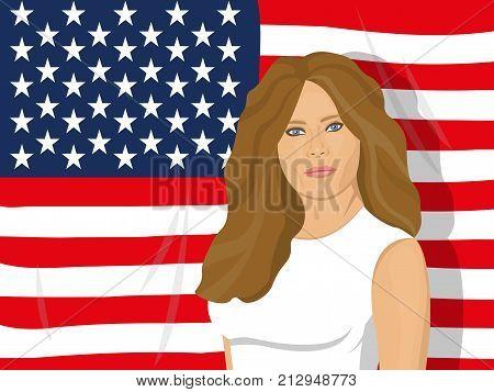 Usa First Lady.