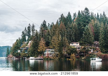 Deep Cove In North Vancouver, Bc, Canada