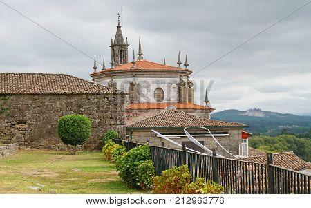 Church San Telmo, Camino de Santiago trail, Spain