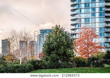 False Creek In Vancouver, Canada