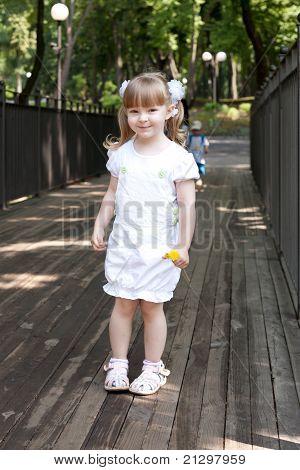 Adorable small girl