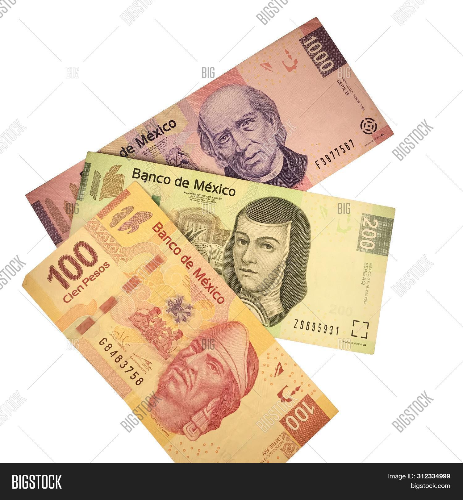 Group Mexican Peso Image Photo Free