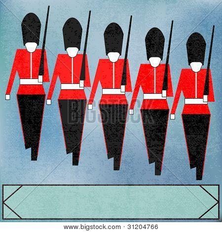 Guardsmen Marching