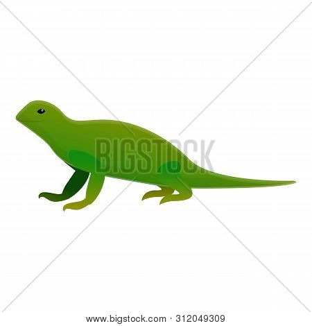 Iguana Lizard Icon. Cartoon Of Iguana Lizard Vector Icon For Web Design Isolated On White Background