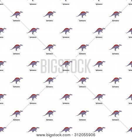 Spinosaurus Pattern Seamless Vector Repeat For Any Web Design