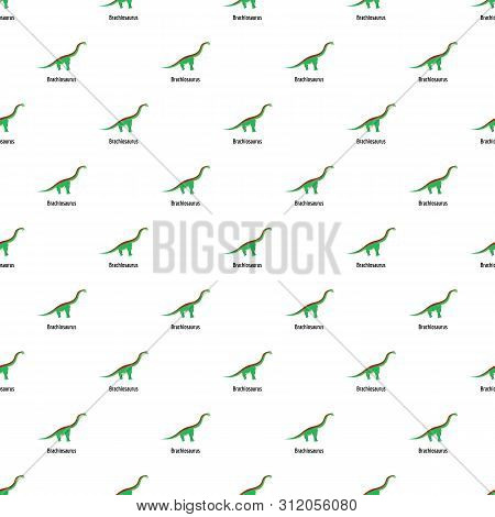 Brachiosaurus Pattern Seamless Vector Repeat For Any Web Design