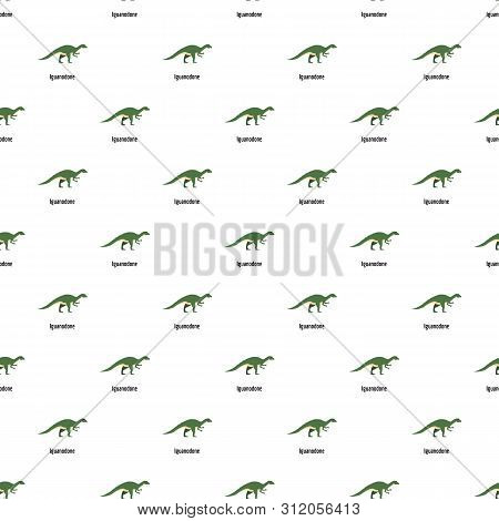 Iguanodone Pattern Seamless Vector Repeat For Any Web Design