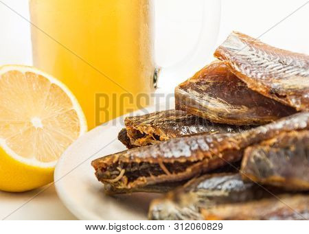 Dried Fish Fillets ( Roach )