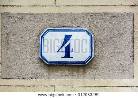 House Number Four ( 4 )