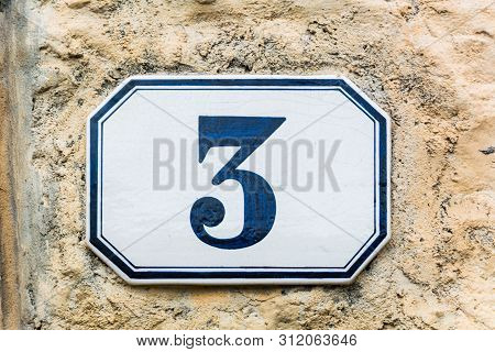 House Number Three ( 3 )